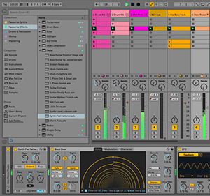 Ableton Live 10 Screenshot