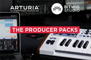 Arturia Bitwig - The Producer Packs
