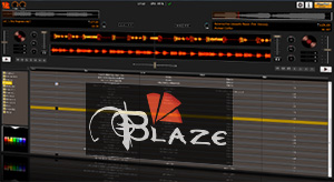 Screenshot Blaze DJ Software