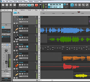 Cakewalk Music Creator 6 Touch Screenshot
