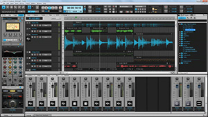 Screenshot Cakewalk Sonar X2