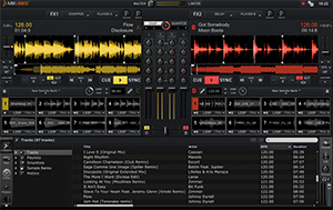 MixVibes Cross 2.4 Screenshot