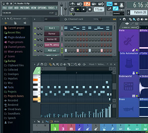 Image Line FL Studio Screenshot