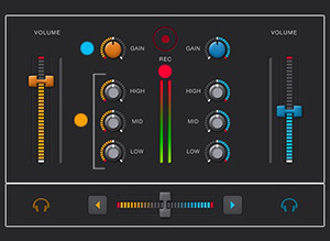 DJ Software future.dj Mixer Screenshot
