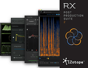 iZotope RX 6 Audio Editor und Audio Repair Tool