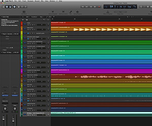 Apple Logic Pro X Screenshot