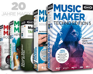MAGIX Music Maker Special Editions