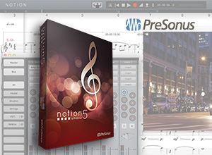 PreSonus Notion 5 Screenshot
