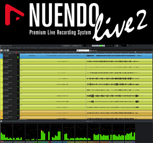 Nuendo Live 2 Screenshot