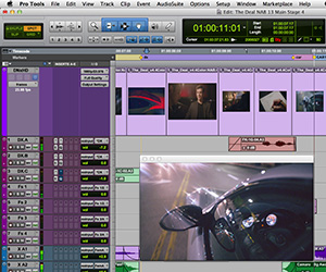 Avid Pro Tools 11 Screenshot