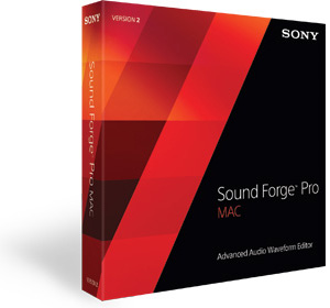 Sound Forge Pro Mac 3 Software