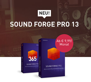 Sound Forge Pro 13 Screenshot
