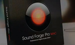 Audio Editor Sound Forge Pro für Mac