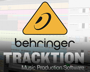 Tracktion 4 Behringer Bundle