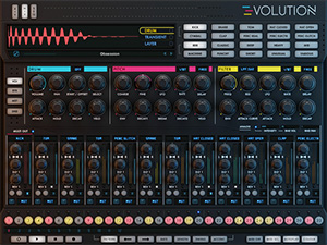 Wave Alchemy Evolution Drum Machine