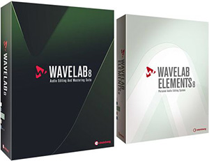 Steinberg WaveLab 8 und WaveLab Elements 8