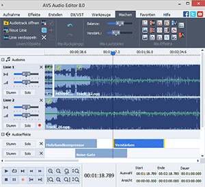 AVS Audio Editor Screenshot