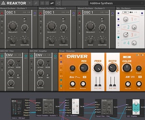 Native Instruments Reaktor Screenshot