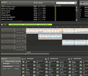 MixMeister DJ Software Screenshot