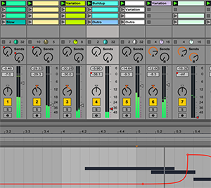 Screenshot Ableton Live