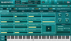 Screenshot Native Instruments Absynth
