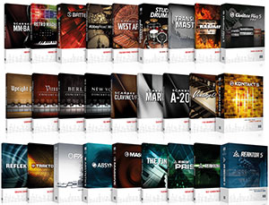 Screenshot Native Instruments Komplete