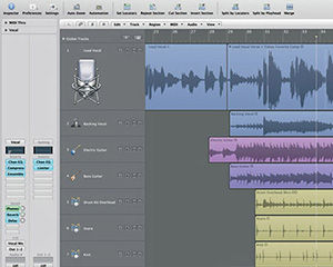 Logic Studio Screenshot