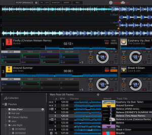 DJ-Software Pioneer Rekordbox DJ Screenshot
