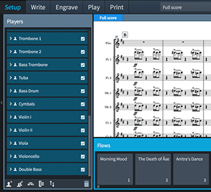 Steinberg Dorico Notation Software Screenshot