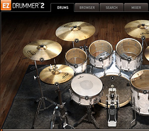 EZdrummer Screenshot
