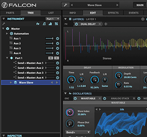 UVI Falcon - Sampling Workstation mit kreativem Potential