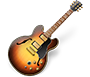 Logo: Apple GarageBand - Freeware Audio MIDI Workstation