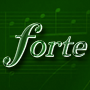 Logo: Forte - Scorewriter mit Free- und Light-Version